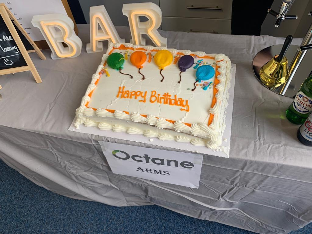 Octanes first celebration for our 10 year anniversary